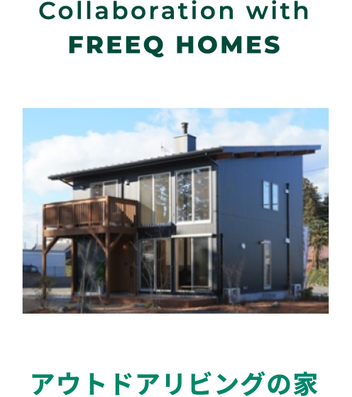 Collaboration with FREEQ HOMES
